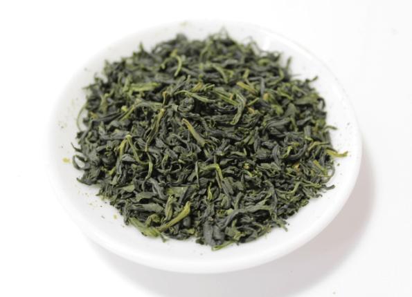 Prémium bio kamairi cha japán zöld tea (sencha)